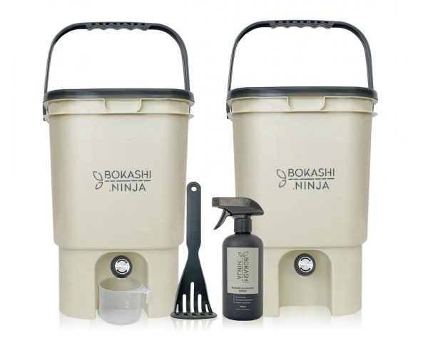 Bokashi Ninja double starter bucket kit