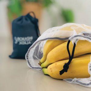 Bokashi Ninja rPET Mesh Produce Bags